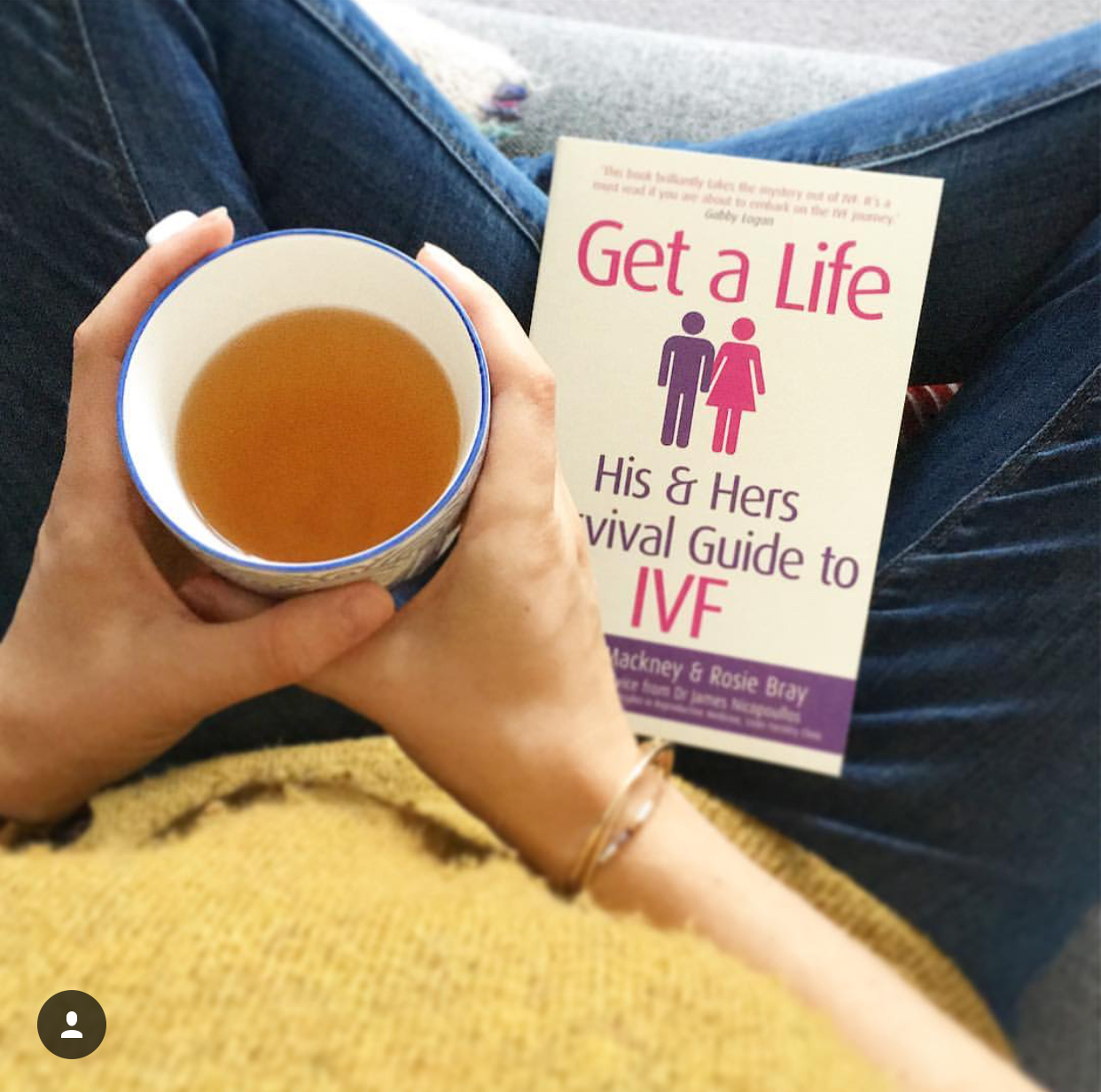 Book review of Get a Life - His and Hers Survival Guide to IVF by Richard Mackney and Rosie Bray