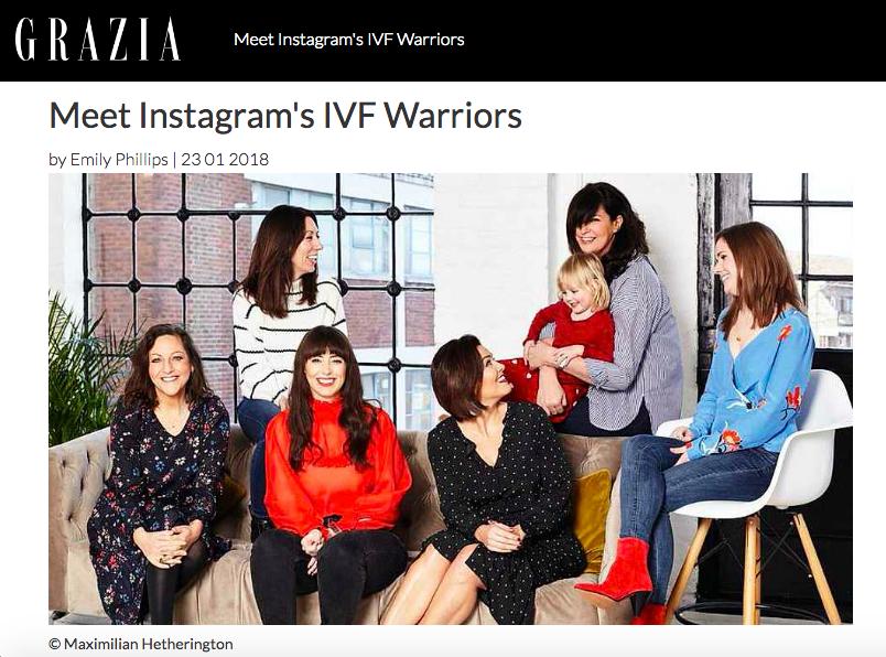 Grazia IVF warriors - the preggers kitchen