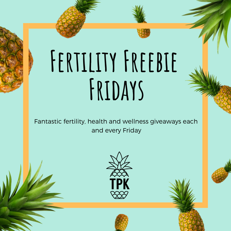Fertility Freebie Fridays - fertility giveaway the preggers kitchen