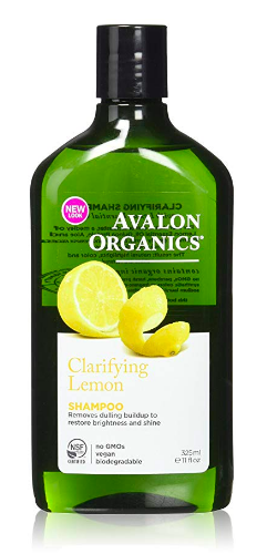 Avalon Organic shampoo - best fertility chemical free personal care products