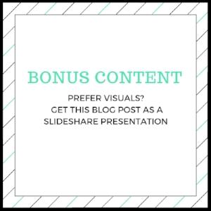 bonus content slideshare presentation