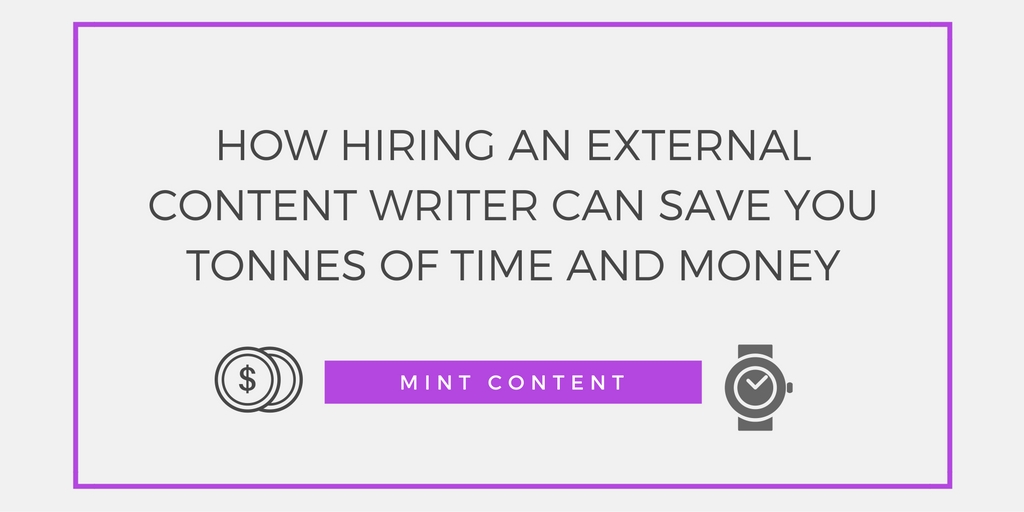 Header image content writer save time and money