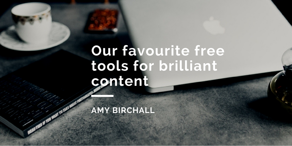 header image favourite free tools for brilliant content