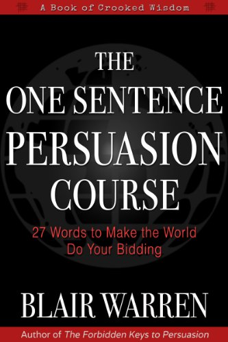 one sentence persuasion course book cover