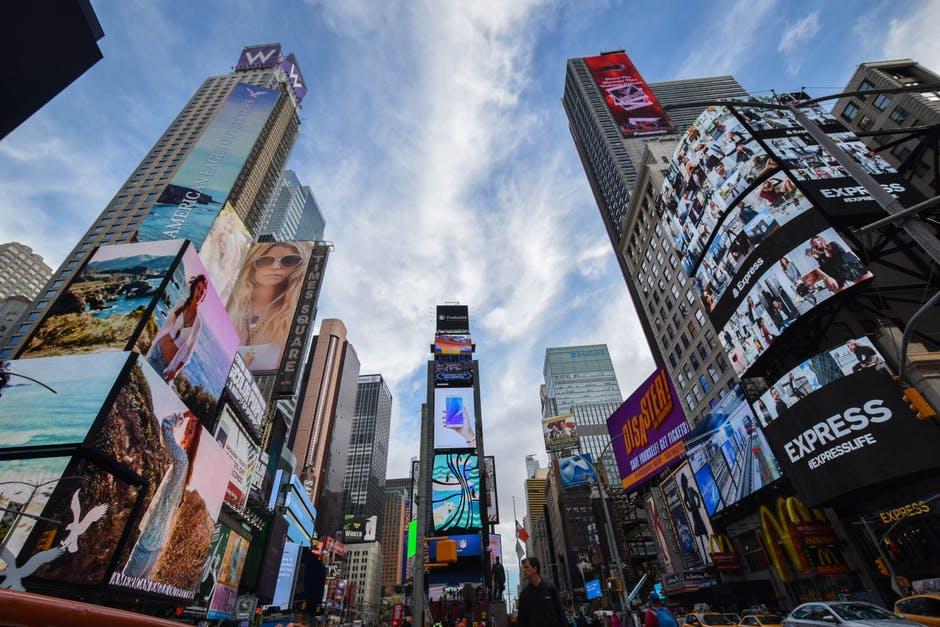 Times Square persuasion advertising