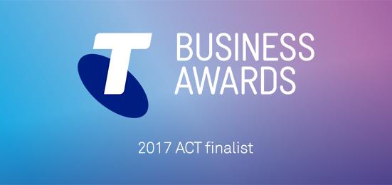 Telstra ACT Business Awards finalist Mint Content 2017