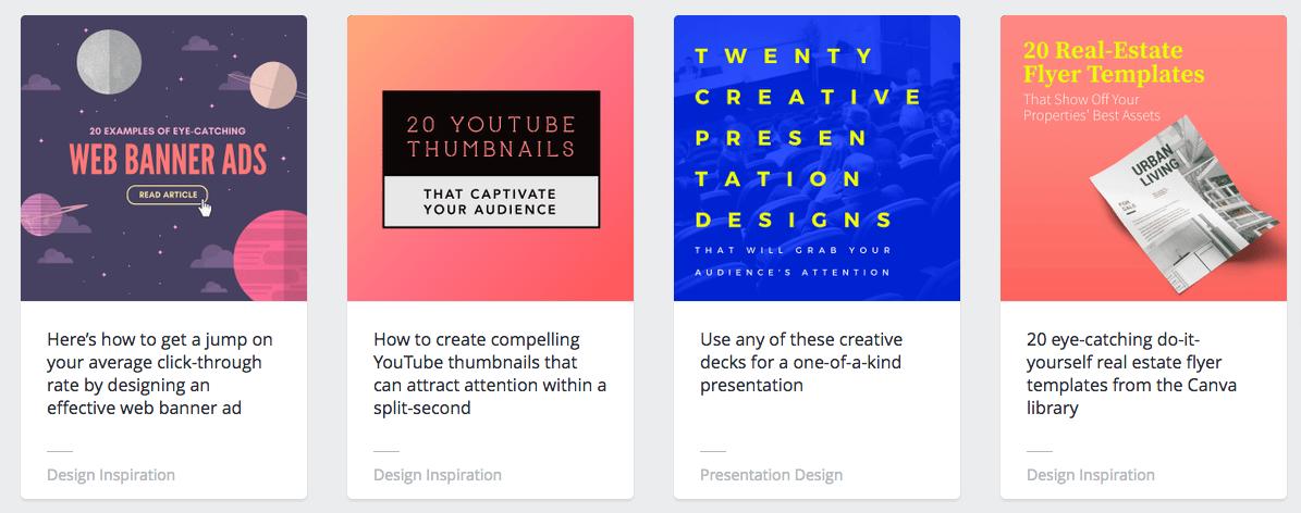 Canva content marketing