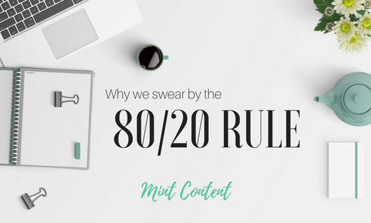 80/20 rule content marketing