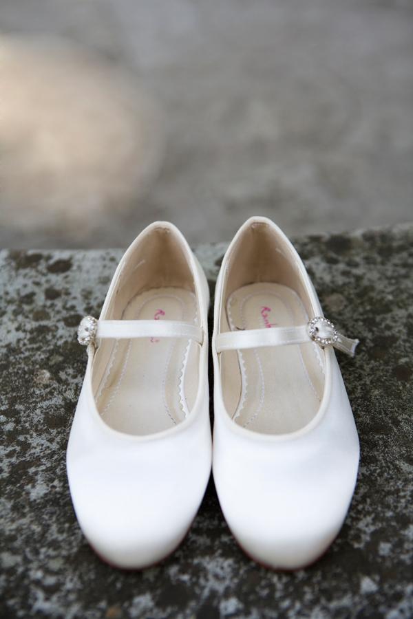 Abigail satin shoes