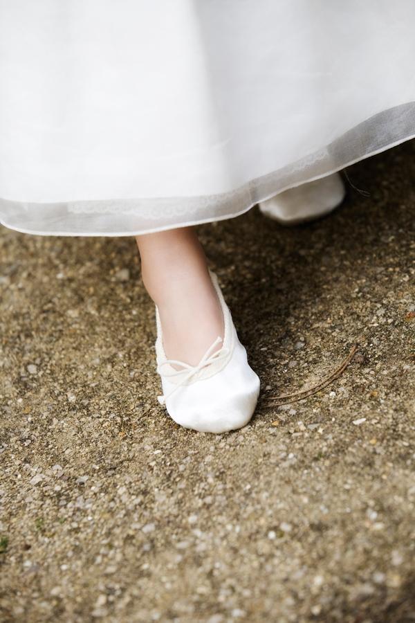 princess ballet slippers