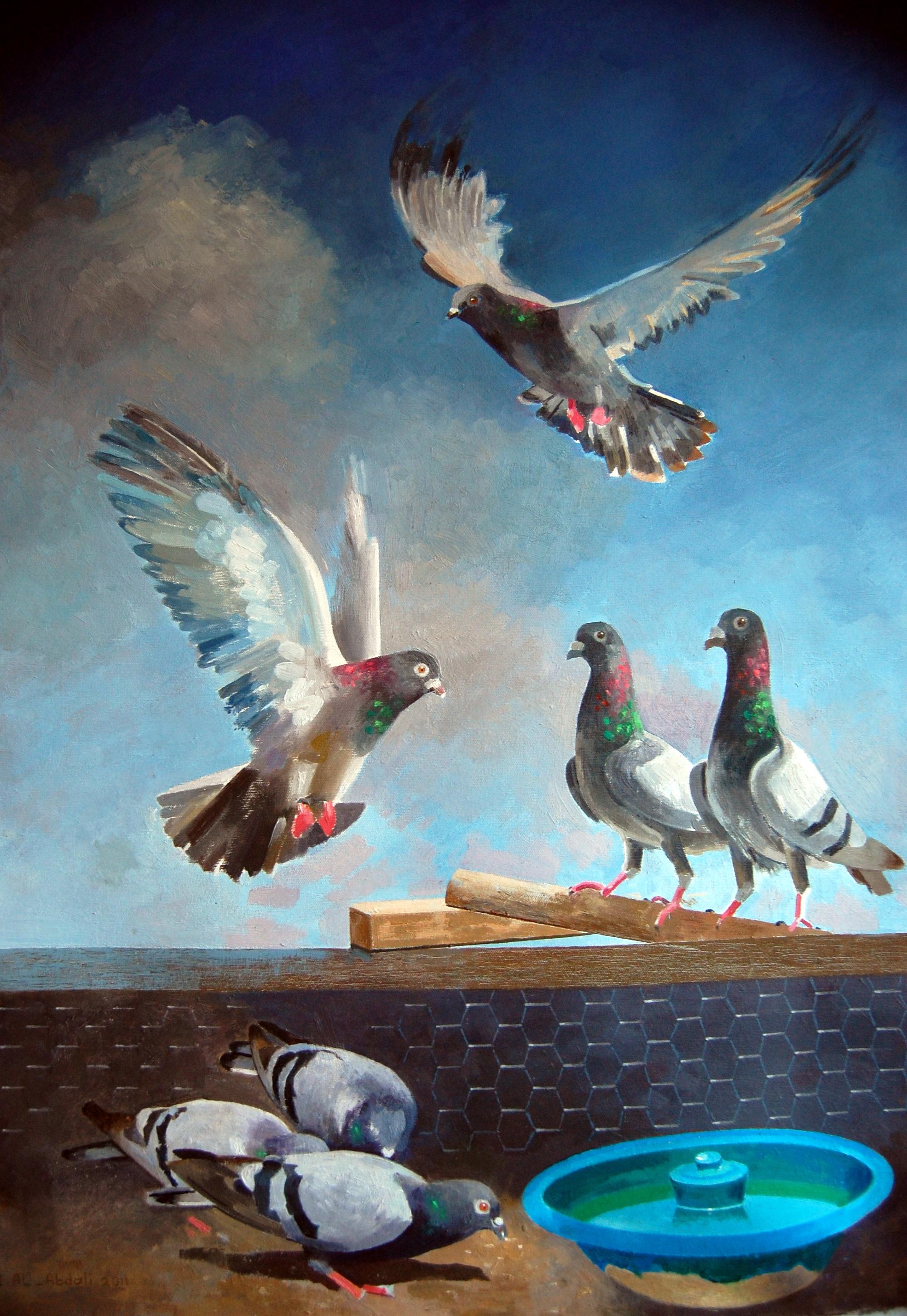 Artist Ibrahim Al-Abdali للفنان ابراهيم العبدلي
