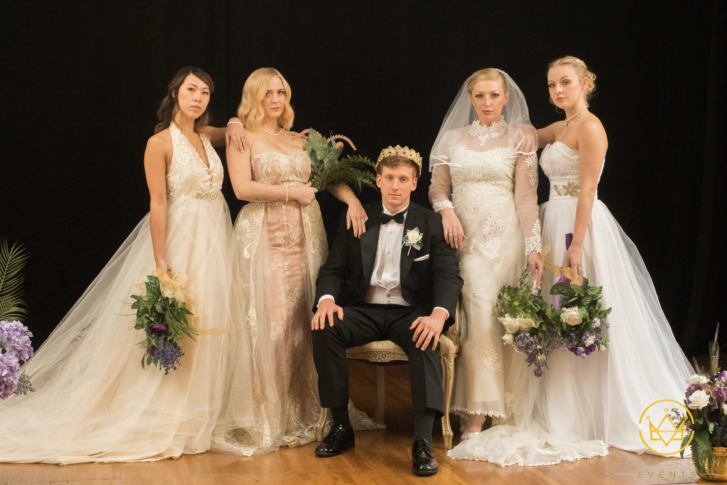 Pictured, from L to R: Christina Leung, Jesyka Noelle, Luke Jarvis, Mandy Jean and Caroline Kelly.