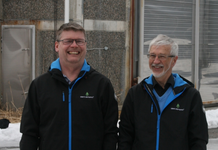 From the left: Thomas Landström and Eric Björkman, Alent Dynamic AB