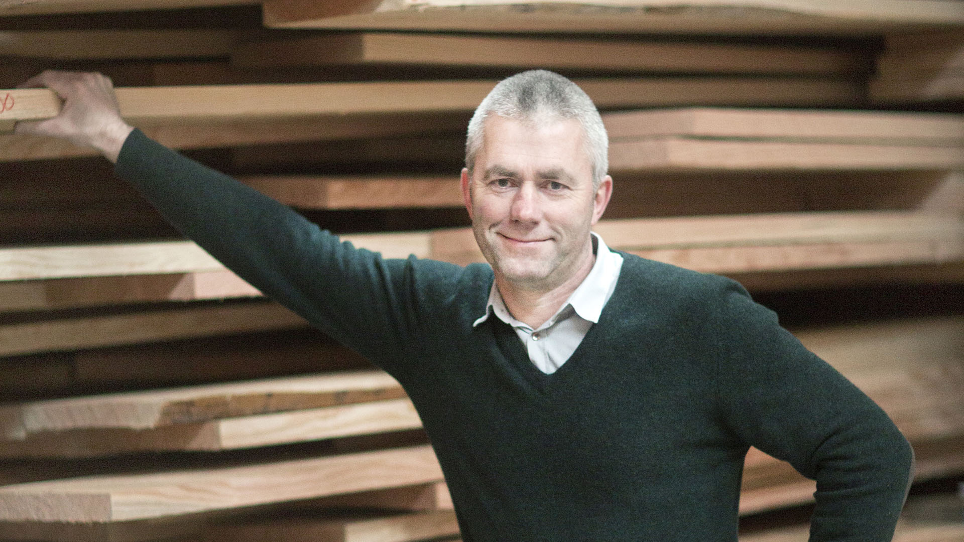 Thomas Dinese, the owner of Dinesen A/S, Danmark