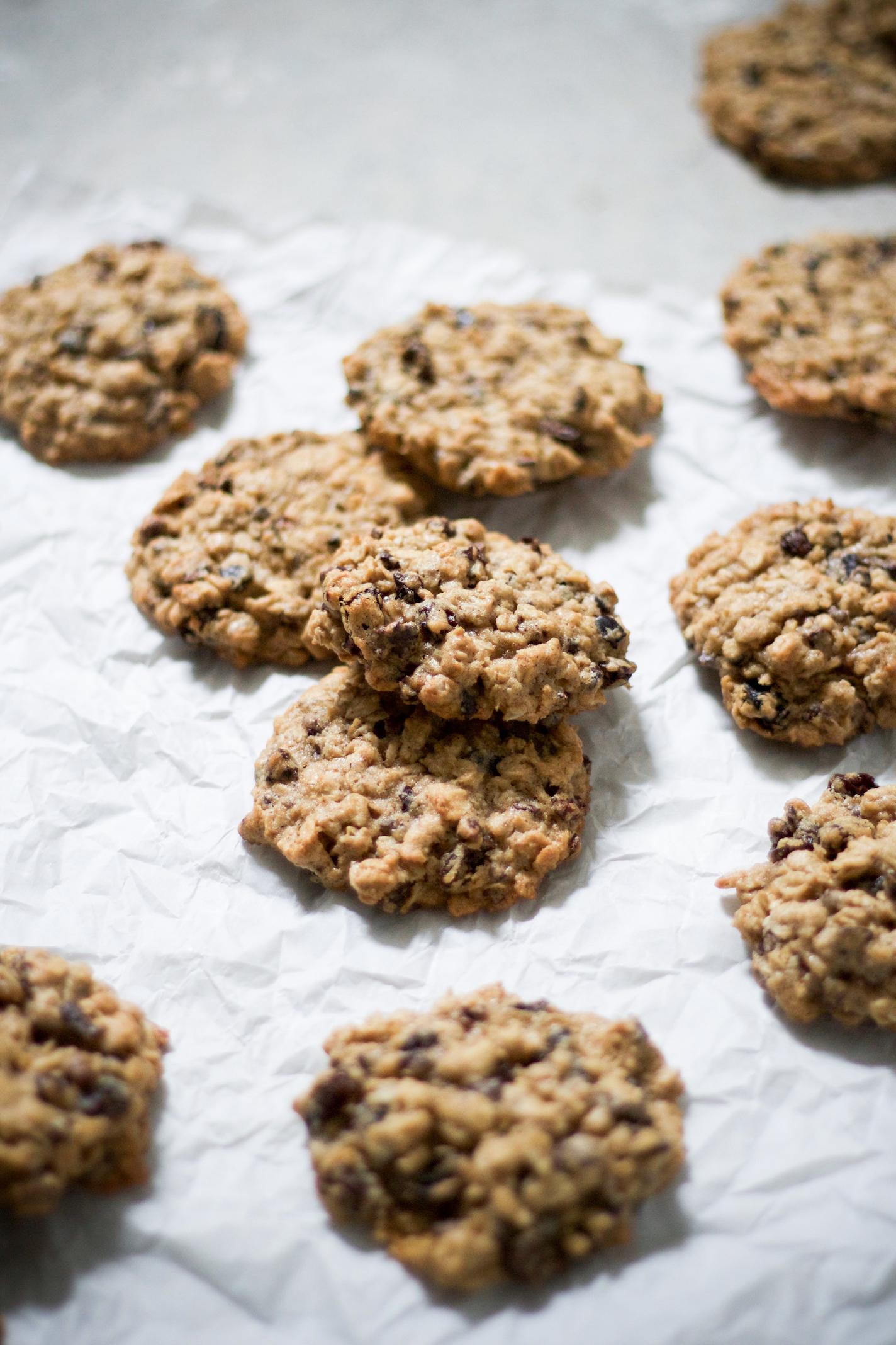 Oatmeal raisin cacao nib cookies 1.jpg