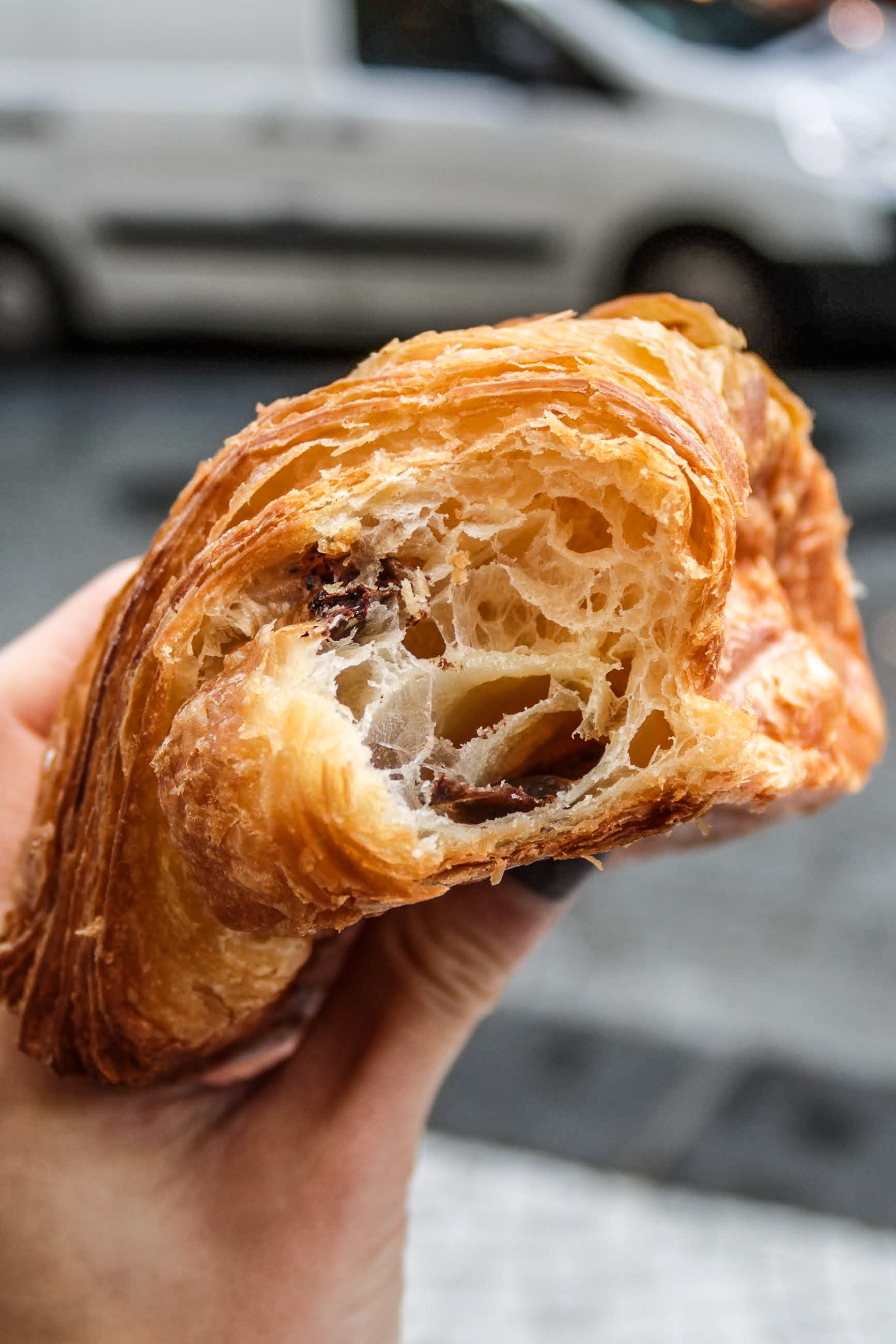 Croissant magic from Stohrer