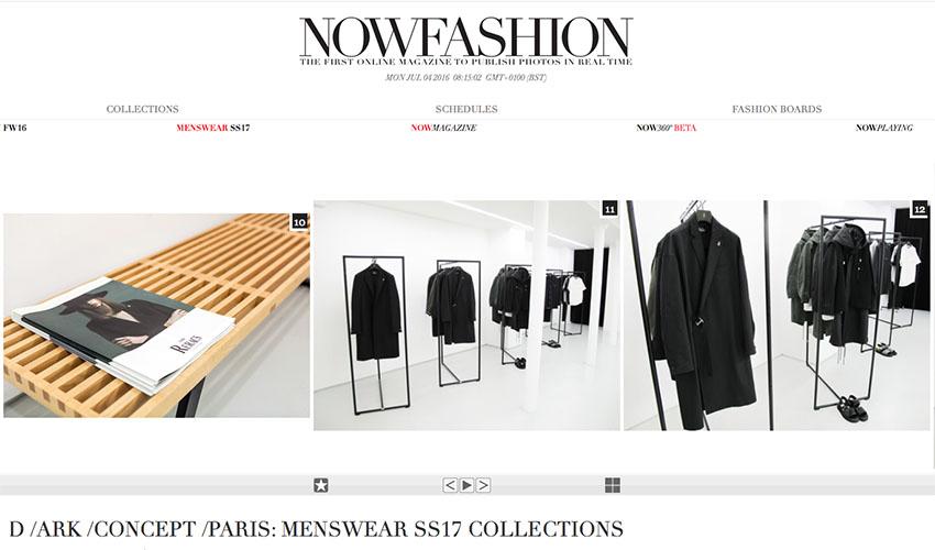 NOWFASHION - D /ARK /CONCEPT Paris