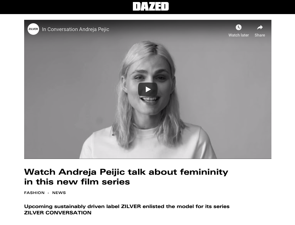 Read on DAZED DIGITAL