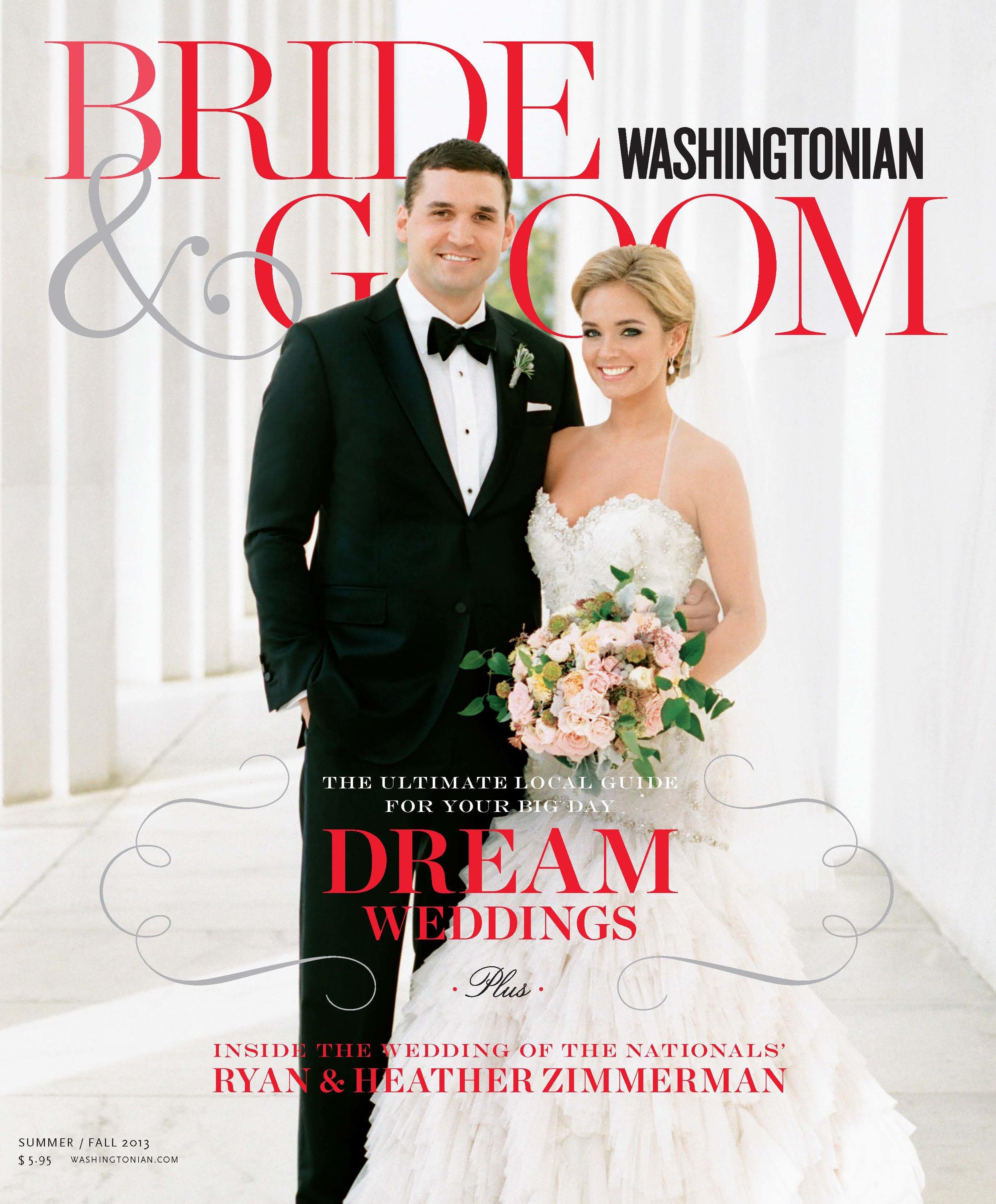Washingtonian Bride & Groom // 2015