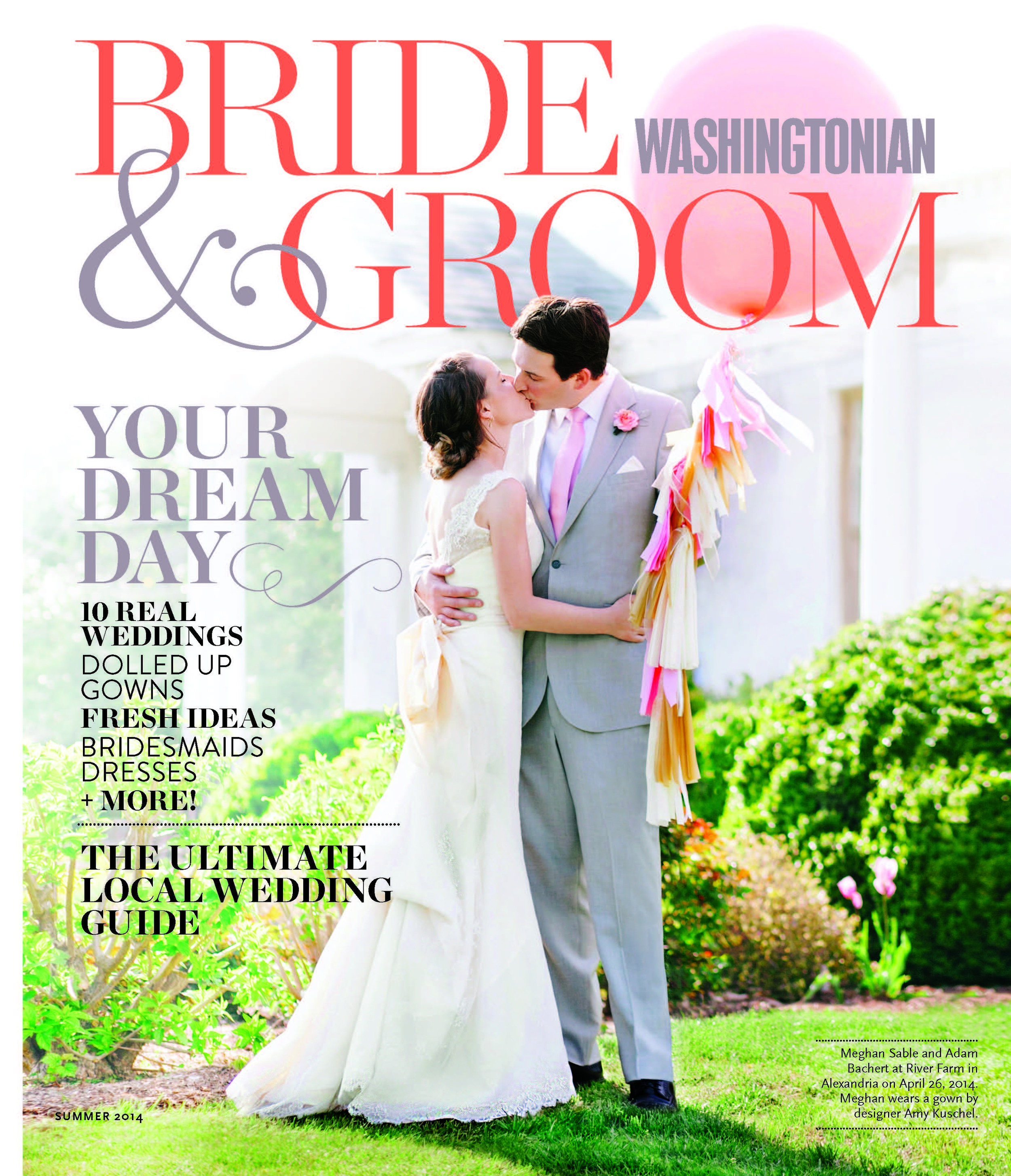 Washingtonian Bride & Groom // Summer 2014