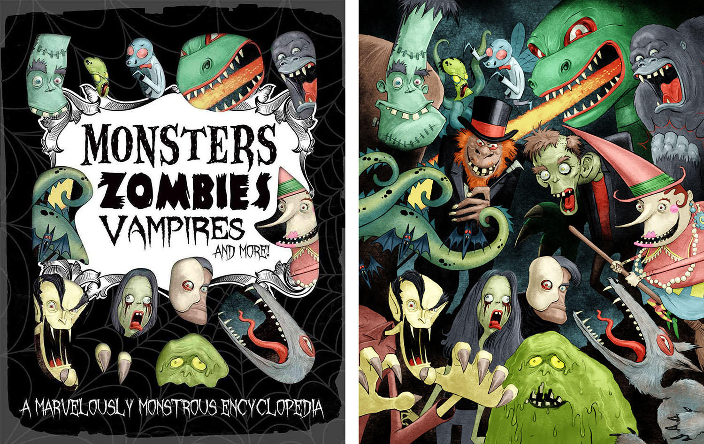 Monsters Zombies Vampires..
