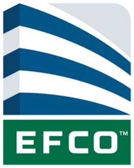 - EFCO Corporation, is a leading manufacturer of architectural aluminum window, curtain wall, storefront and entrance systems for commercial architectural applications. Headquartered in Monett, Missouri, our mission is to be the most trusted supplier in commercial architecture. We seek to provide customers with the highest level of quality, innovation, value, and service.To achieve this goal, we adhere to the same principles and values that shaped who we are today; values such as manufacturing excellence, technological innovation, environmental stewardship, and dedicated customer service.