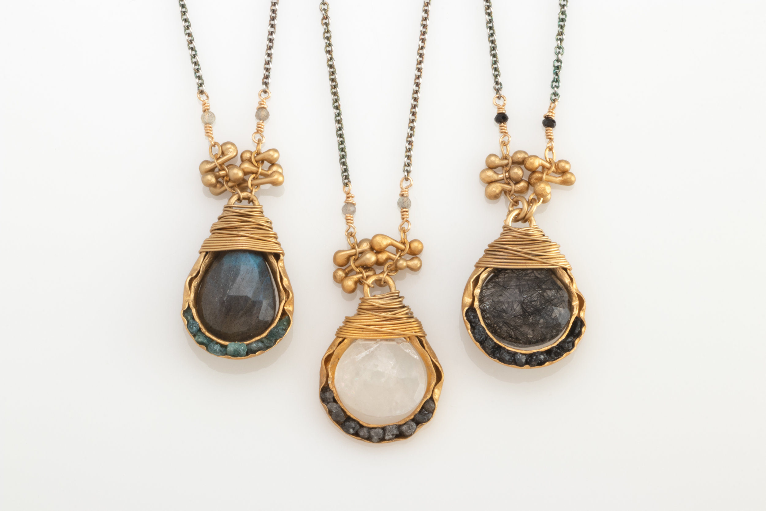 August Nine Designs - Richmond, VA.  Handmade earrings, necklaces, & bracelets using sterling silver, gold, & precious & semi-precious stones.