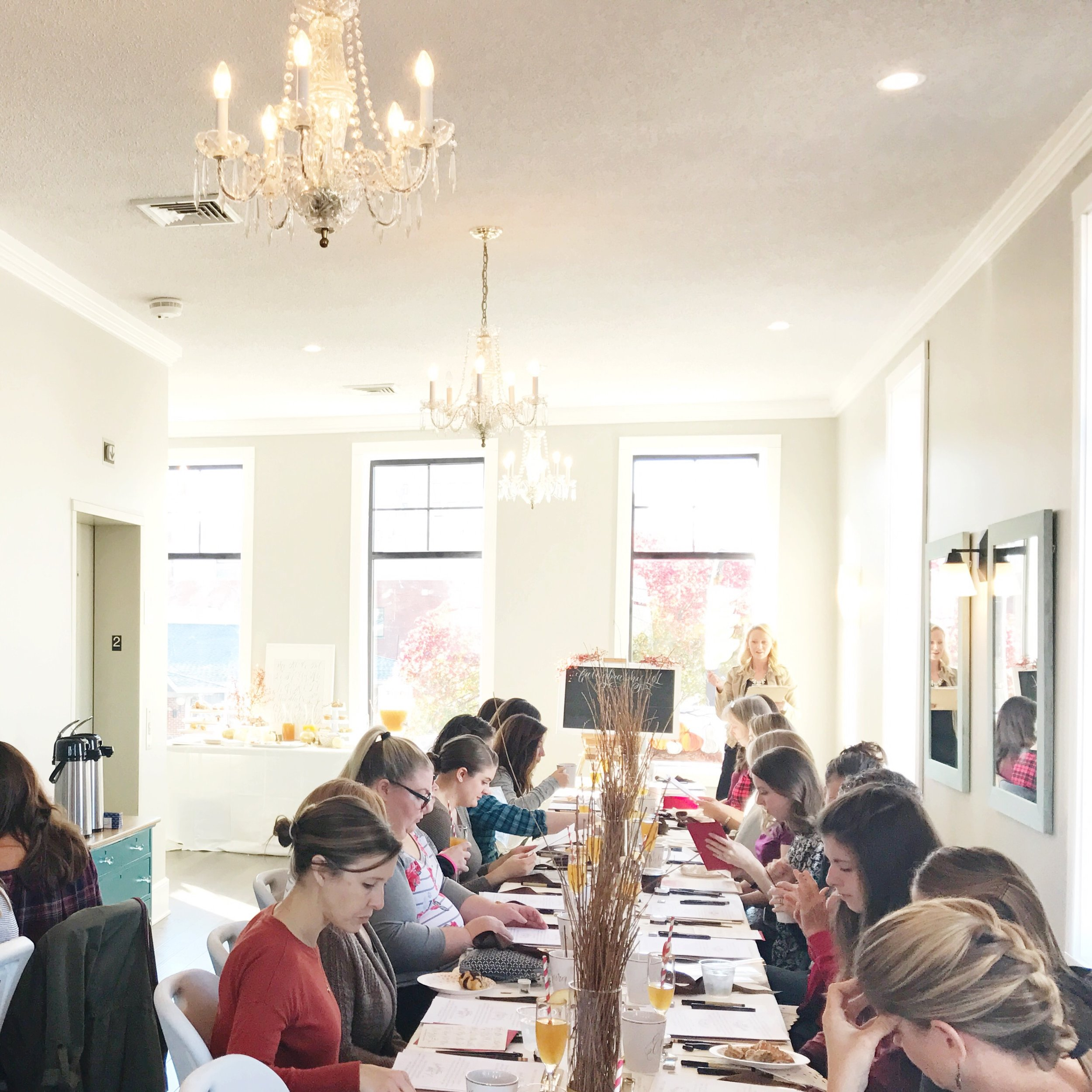 A very Thankful Cocktails and Calligraphy Workshop