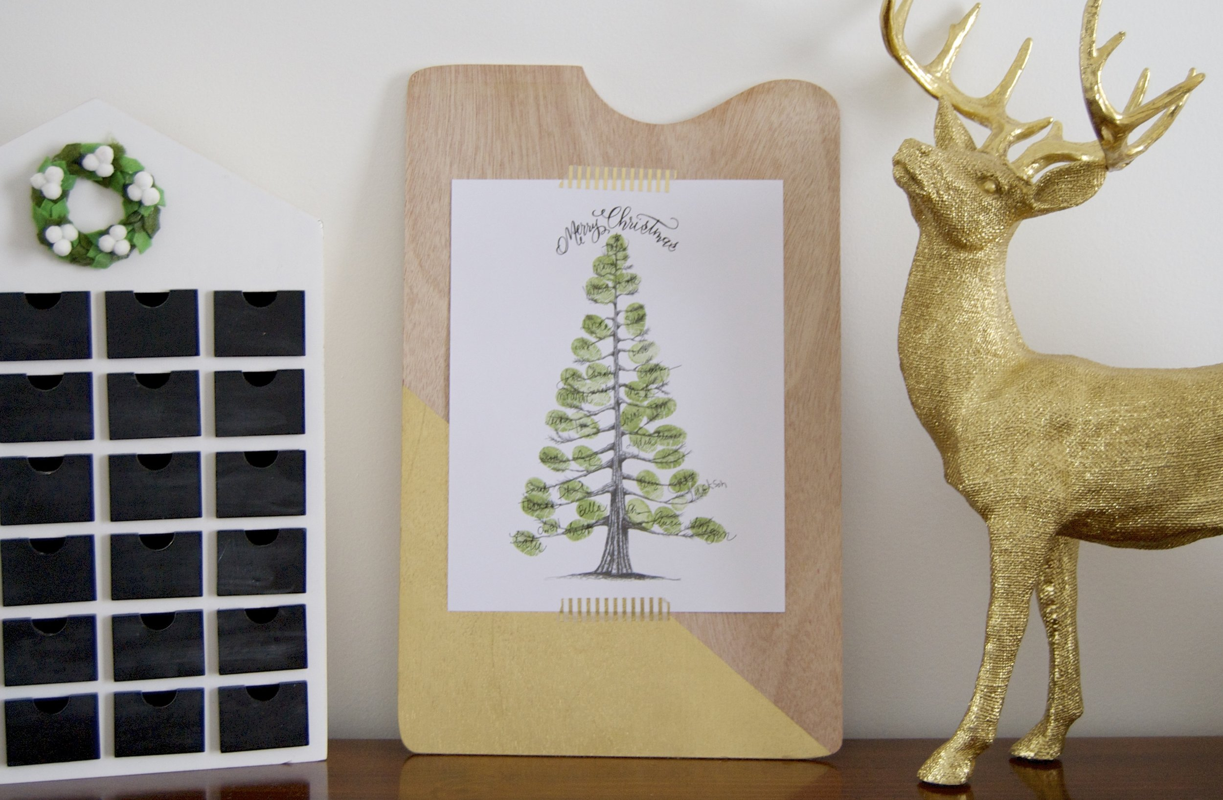 Christmas Guestbook Tree