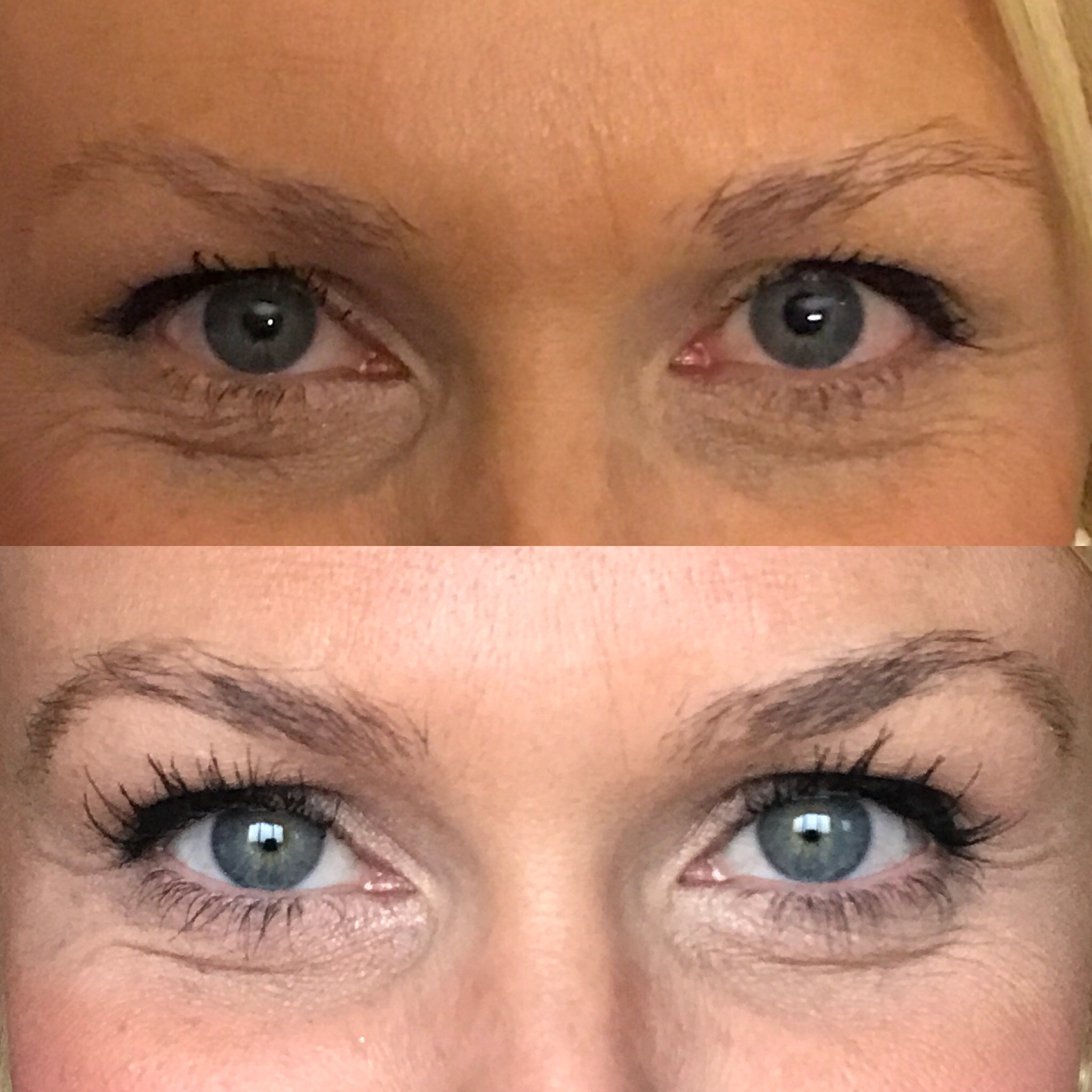 2 and a half vs. 8 weeks with Lash Boost