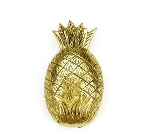Brass Pineapple Doorknocker
