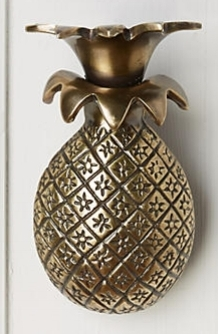 Anthropologie Pineapple Door Knocker