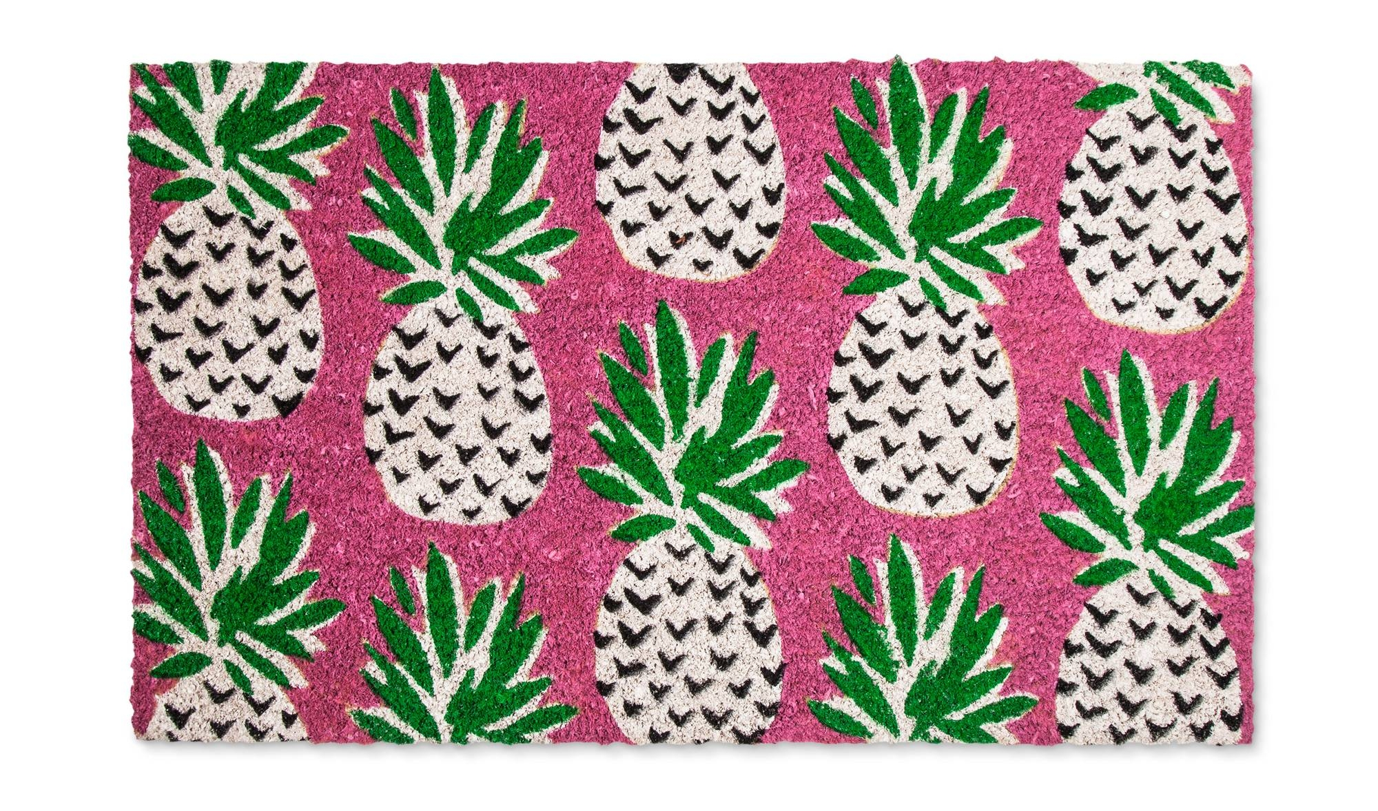 Pink Pineapple Doormat From Target
