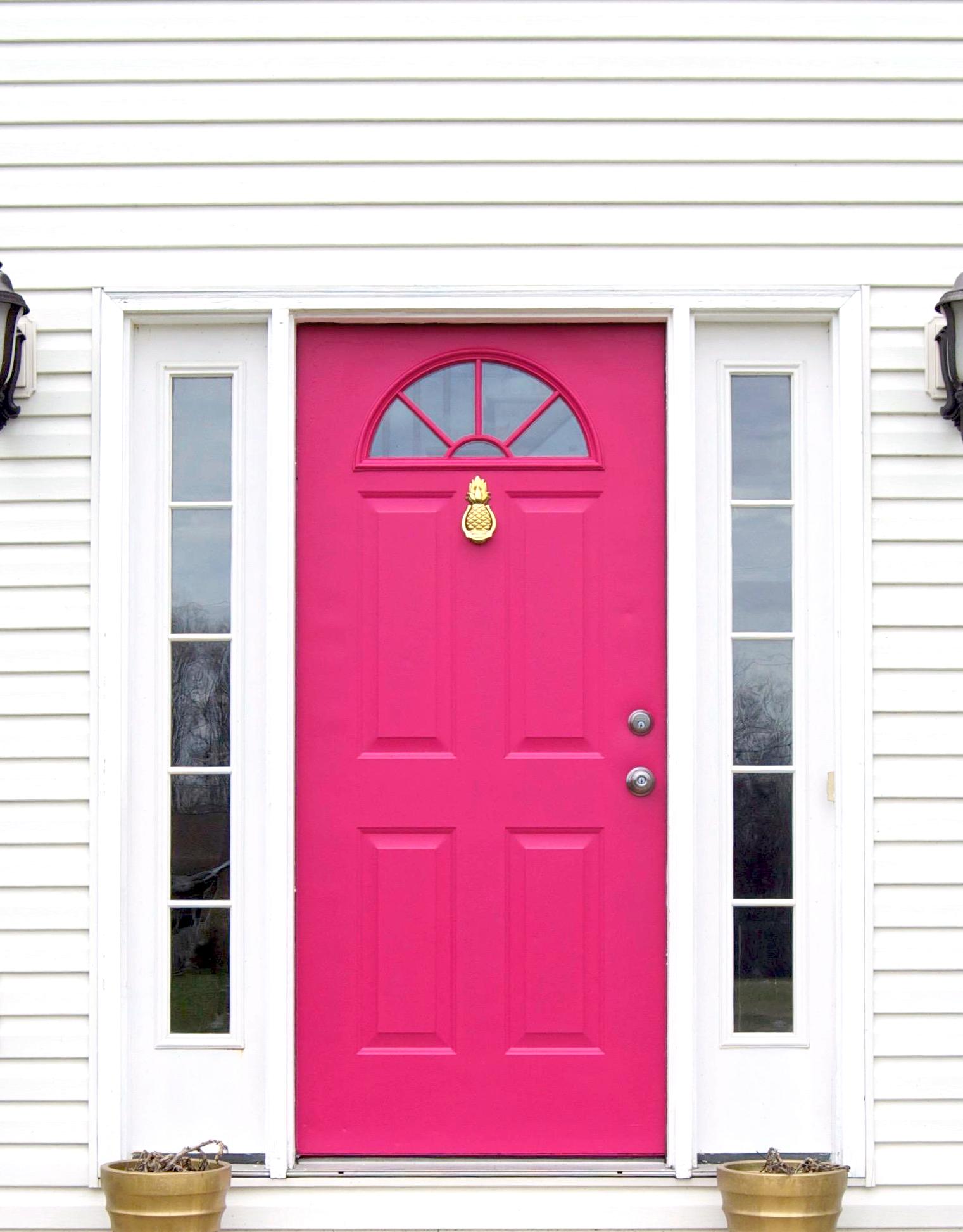 The Pink Door at Erica Hammer Calligraphy and Creative Studio