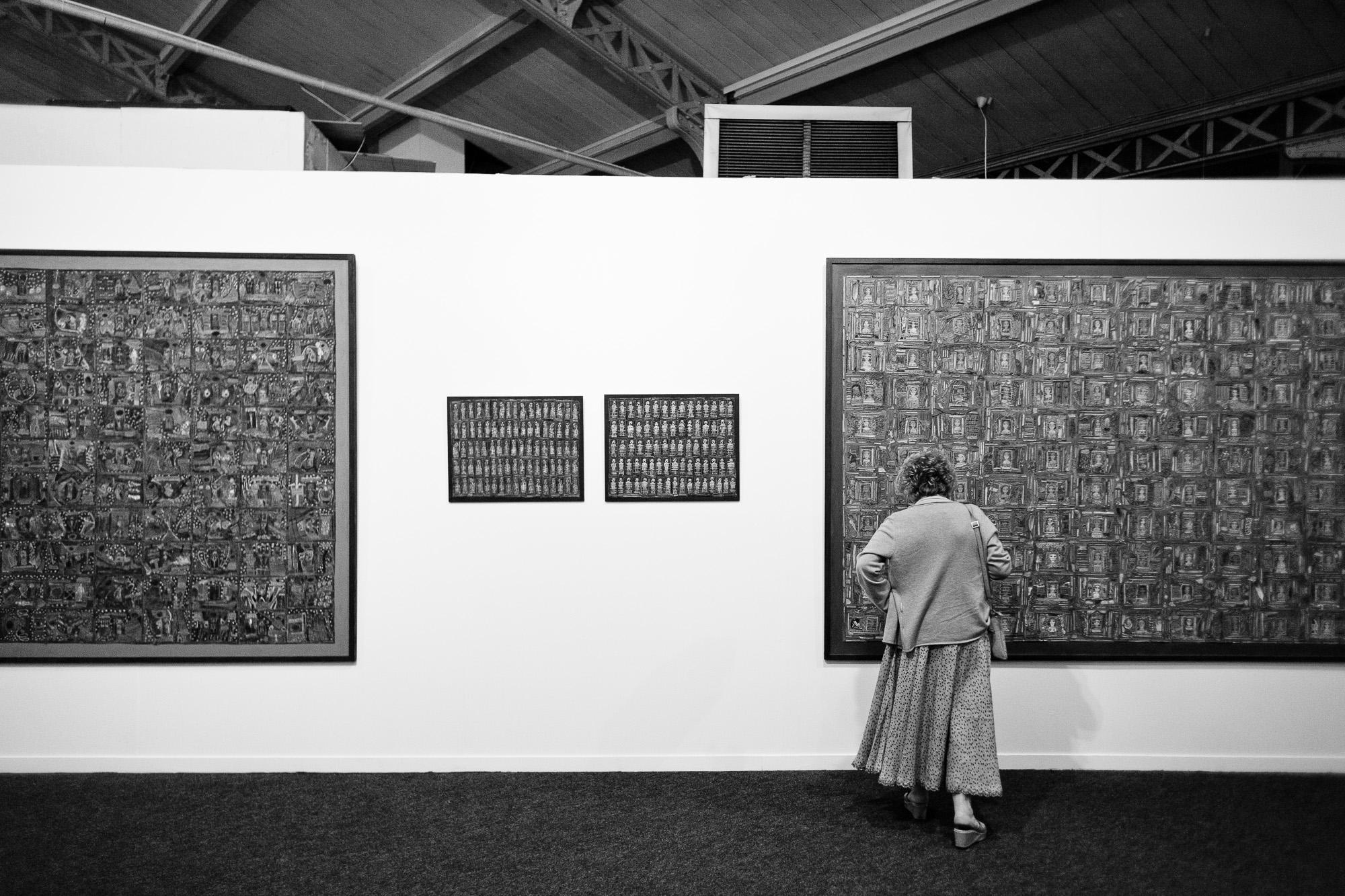 Exposition à la Halle Saint Pierre, Paris. 2010.