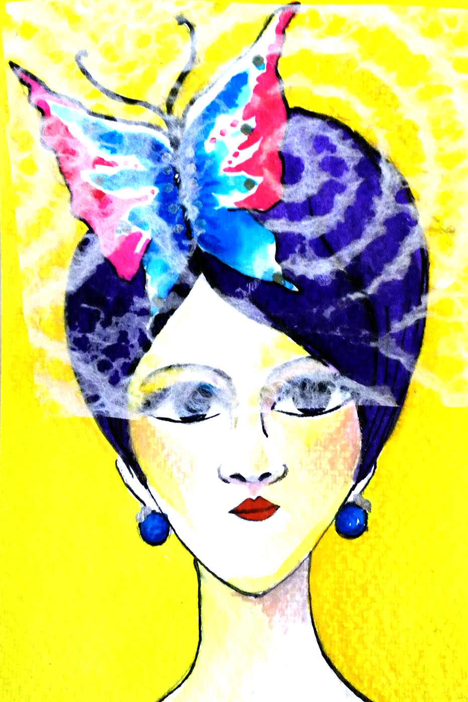 Butterfly Lady Greeting card.jpg