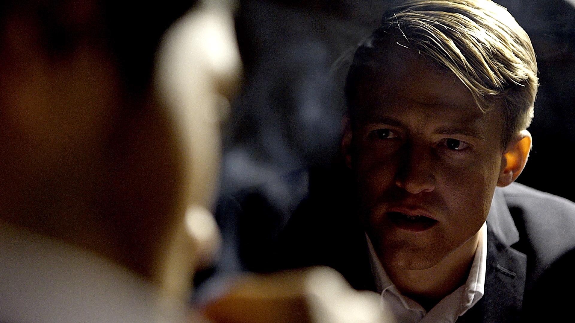 Nick Moss as INTERROGATOR in The Interrogation (Film)