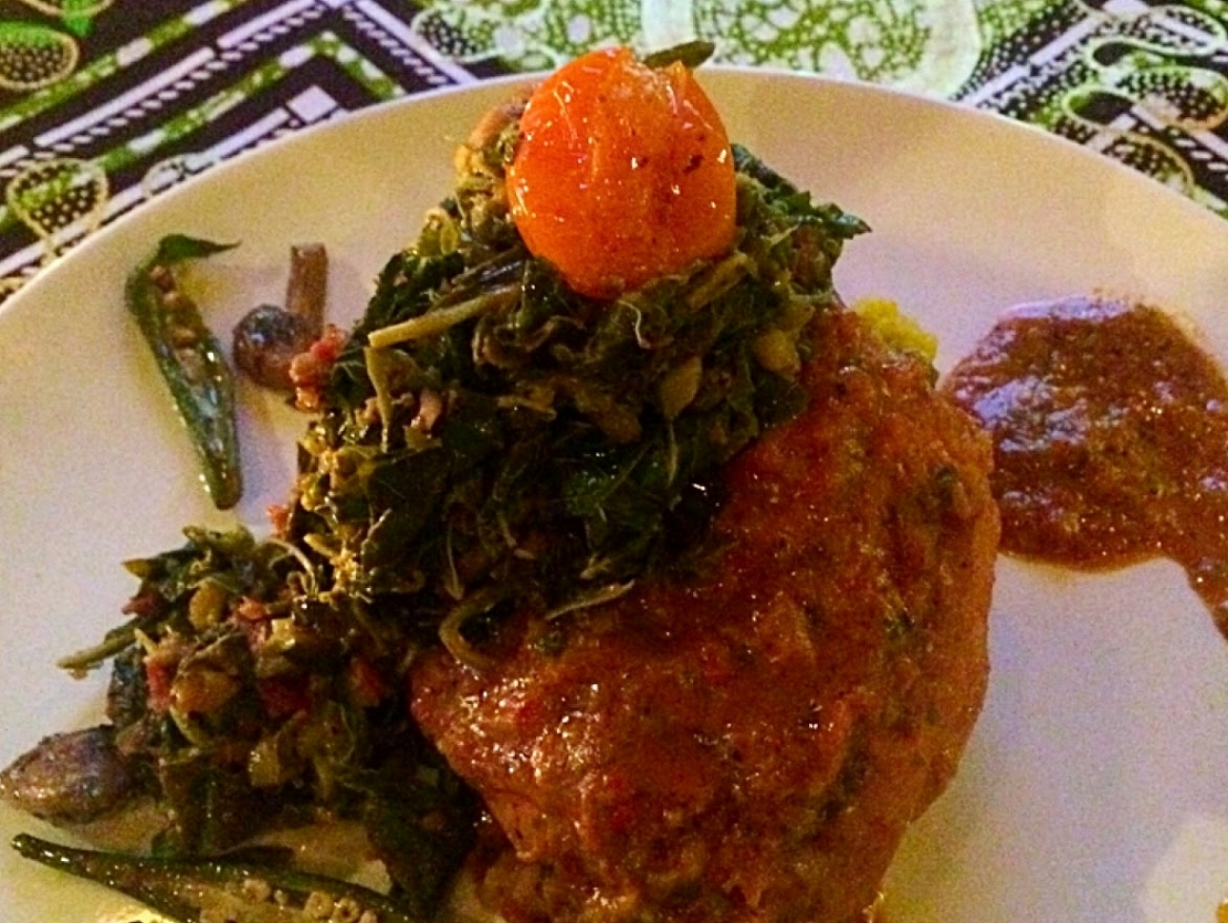 African food Le Virunga Bamako passion