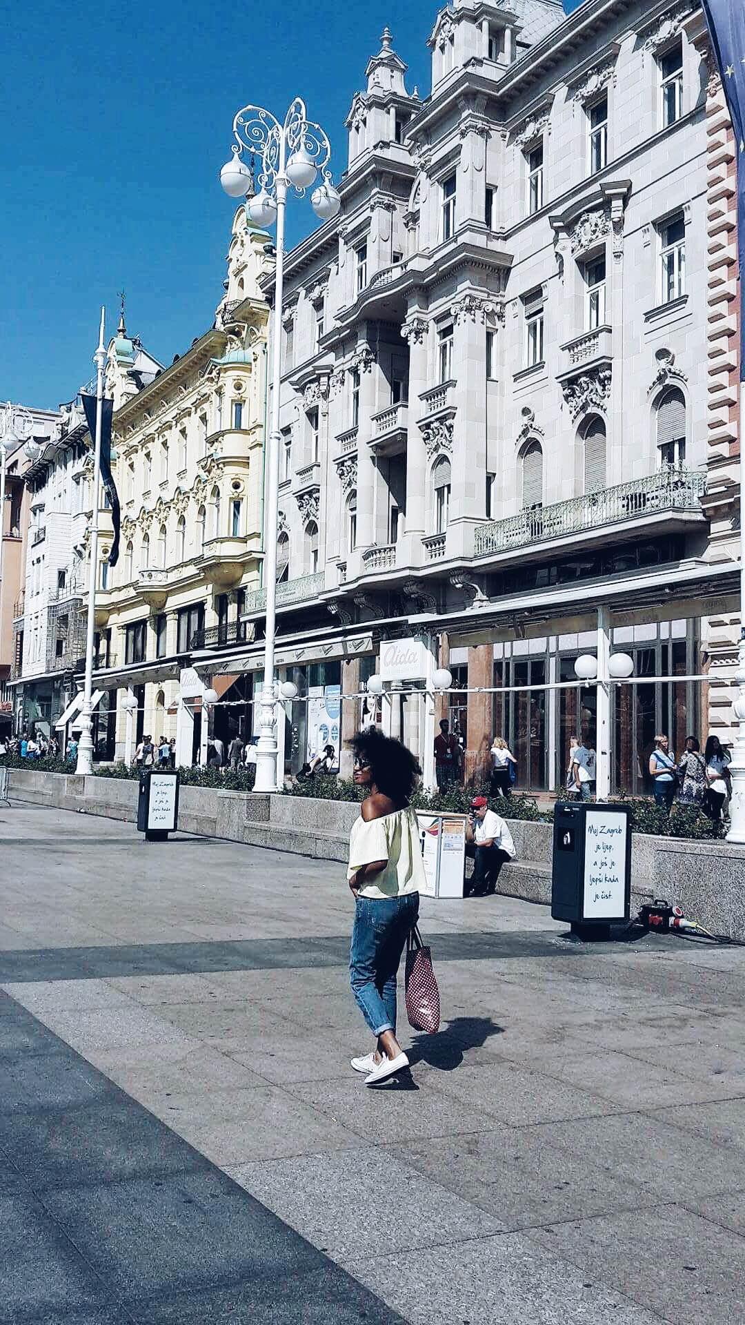 Zagreb City - Black Milk Women