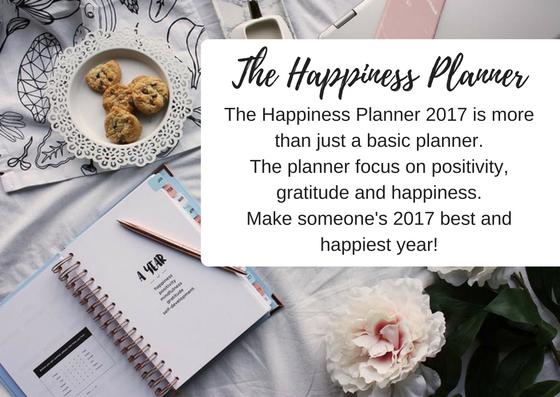 The Happiness Planner - Christmas Gift - Black Milk Women