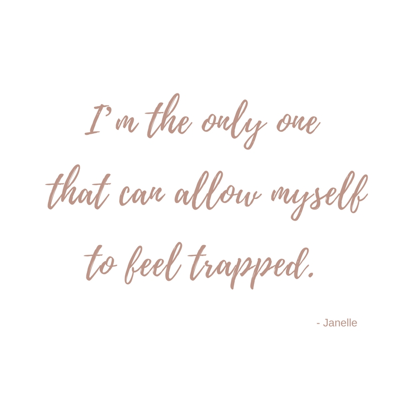 Do you feel trapped in life ? - Black Milk Women