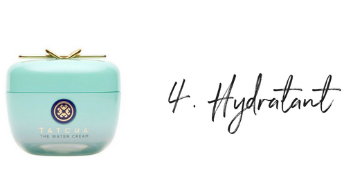 Hydratant Tatcha Water Cream - Routine beauté simple et efficace - Black Milk Women