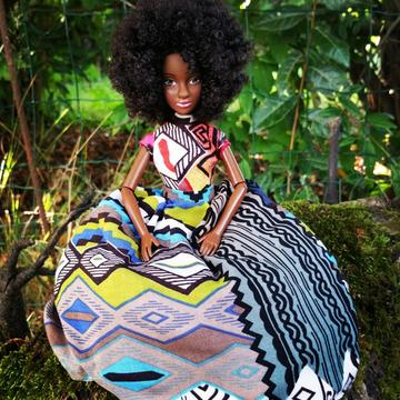 Nneka Dolls - The lovely doll named nubia is styled in 5 diverse wears, therefore it's at your taste. Nneka said,