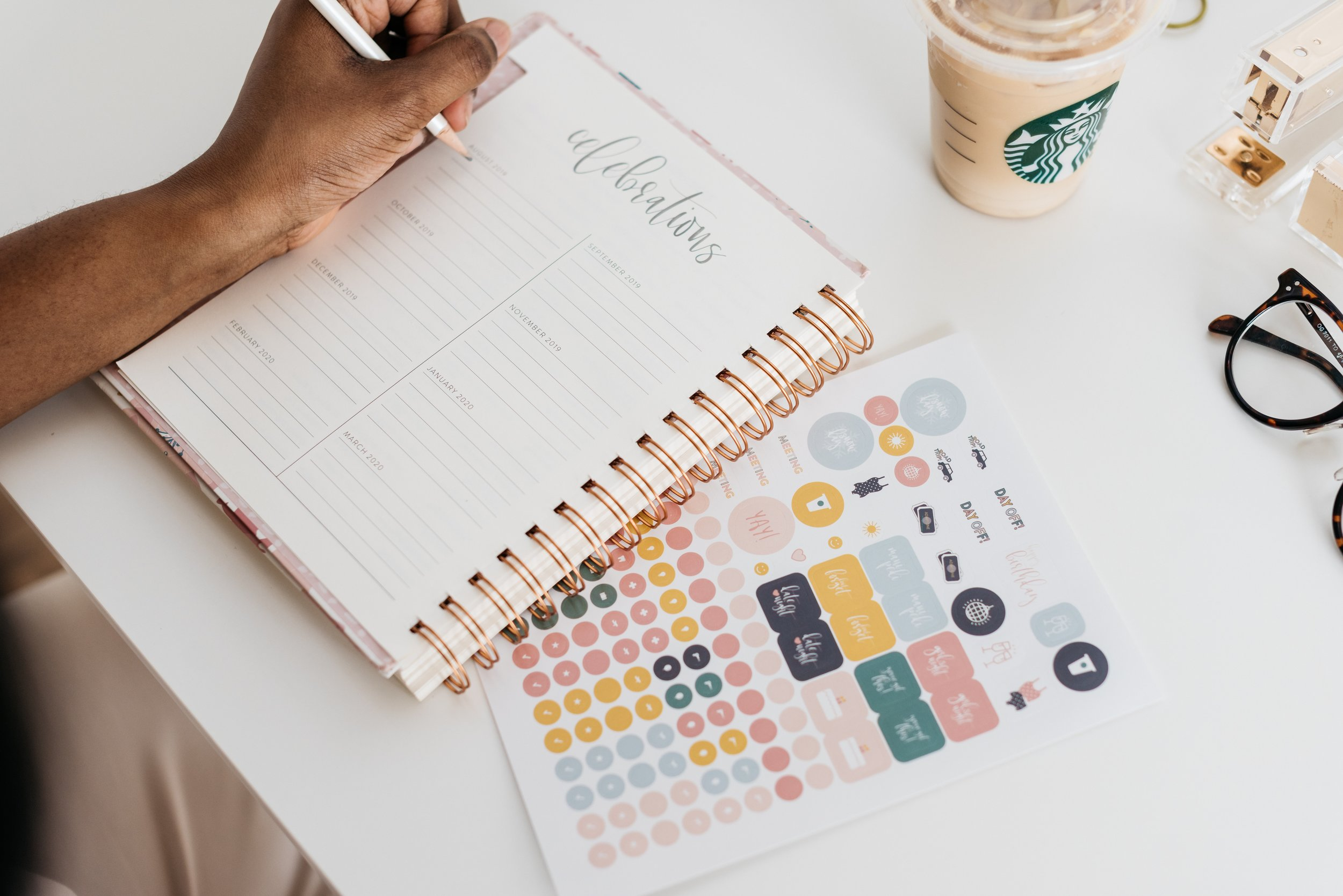 5 PLANNERS TO ORGANIZE AND PLAN YOUR LIFE FOR SUCCESS AND HAPPINESS - My life my choice