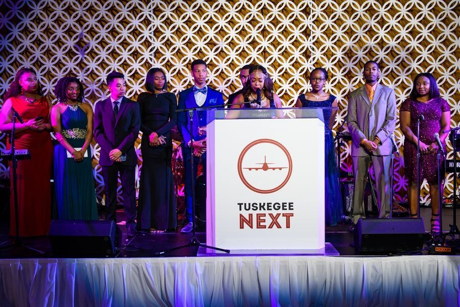 """Tuskegee NEXT Red Tail Ball Propels Next Generation of Pilots"" - Daily Herald"