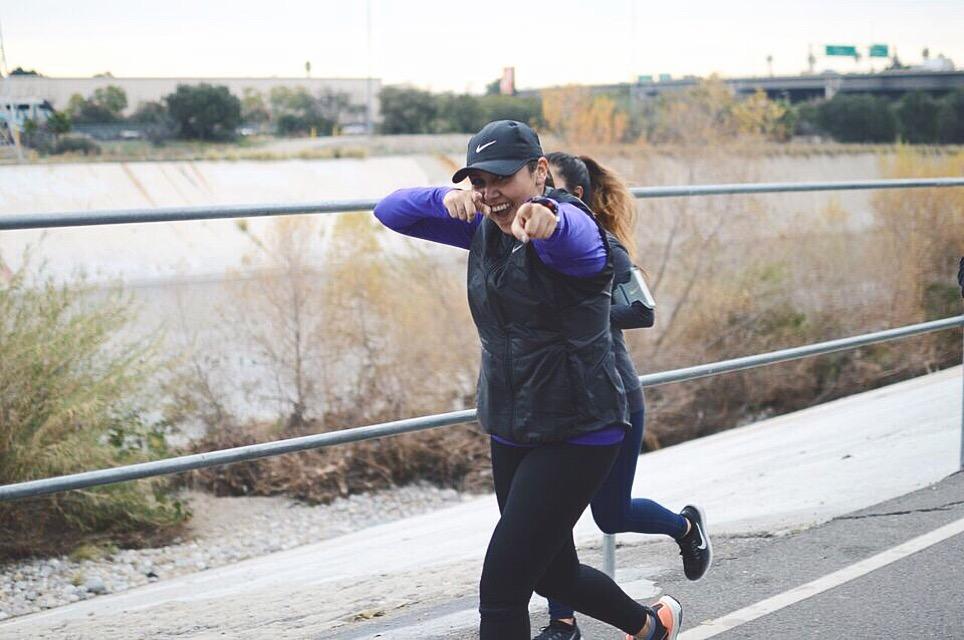 January 23, 2016 - My longest run to date, 14 miles with BlacklistLA