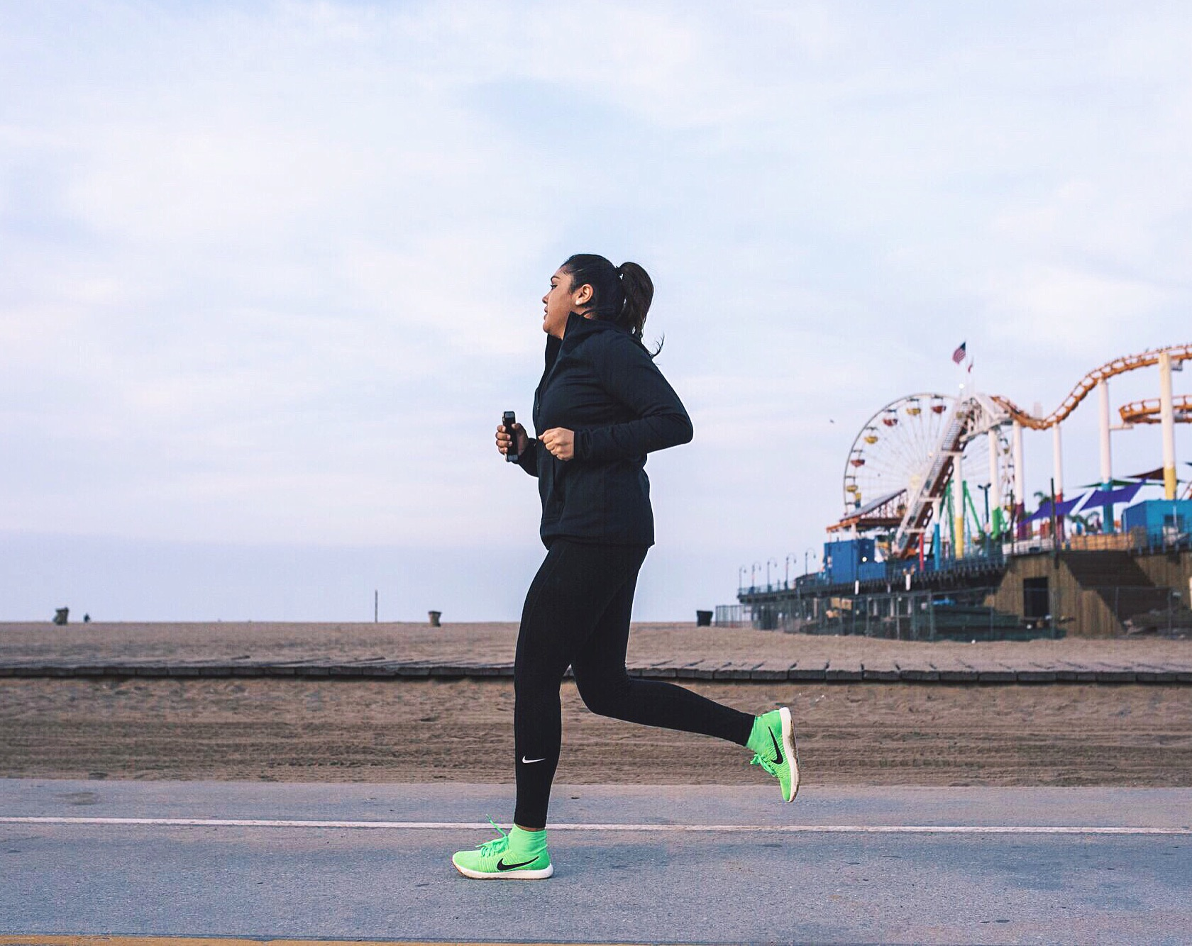 March 3, 2016 - Nike Lunar Epic Flyknit test run. The first picture where I noticed a big change in my appearance. ( Read on this Event Here )