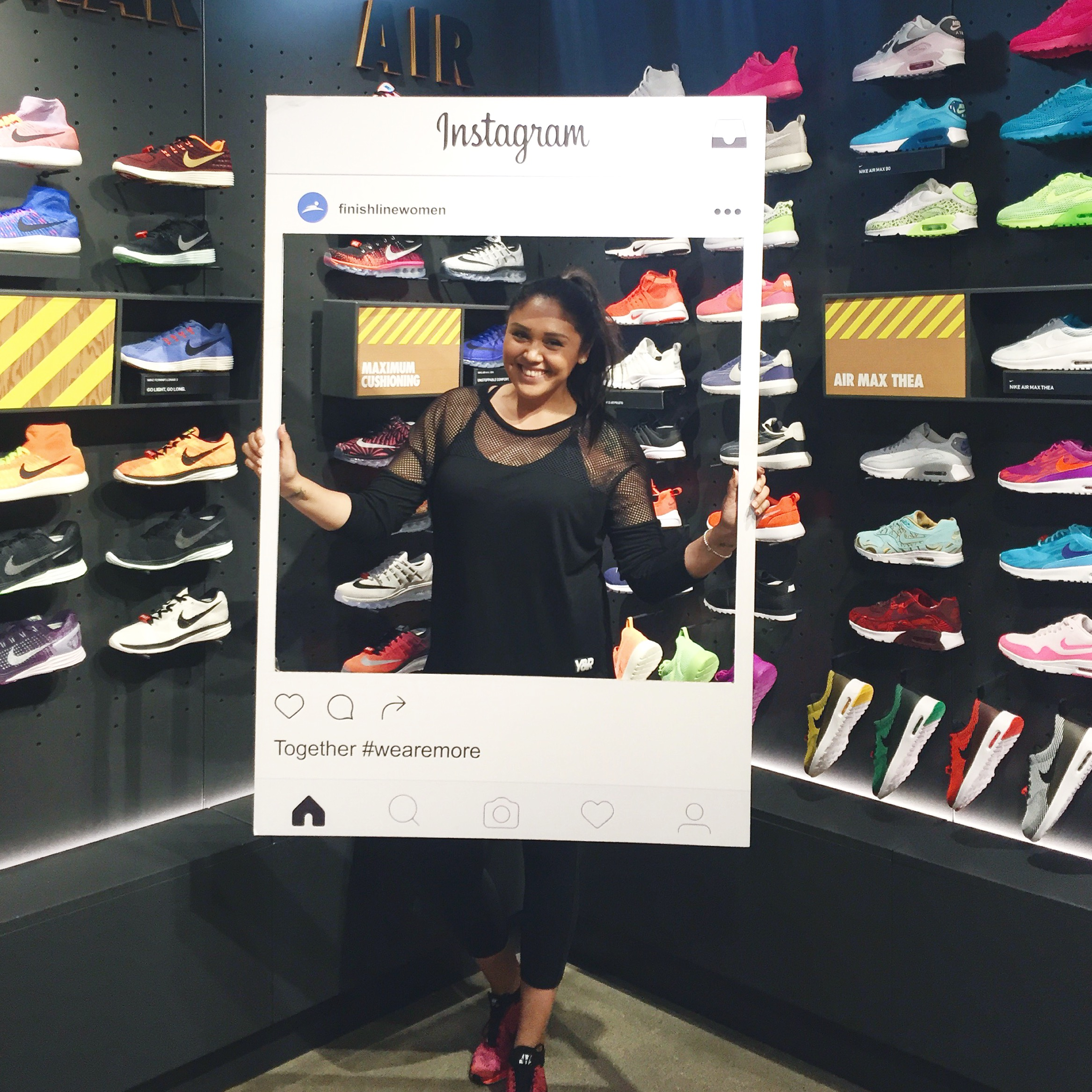 June 10, 2016 - Finishline Women #WeAreMore Launch Event ( Read More Here )