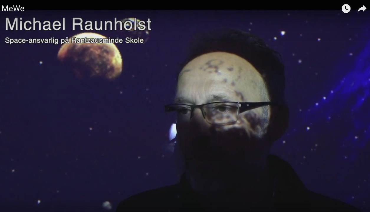 Interview med Michael Raunholst, lærer Rantzausminde skole. Af Maja Korsgaard Sveningsen,Fyens Stiftstidende