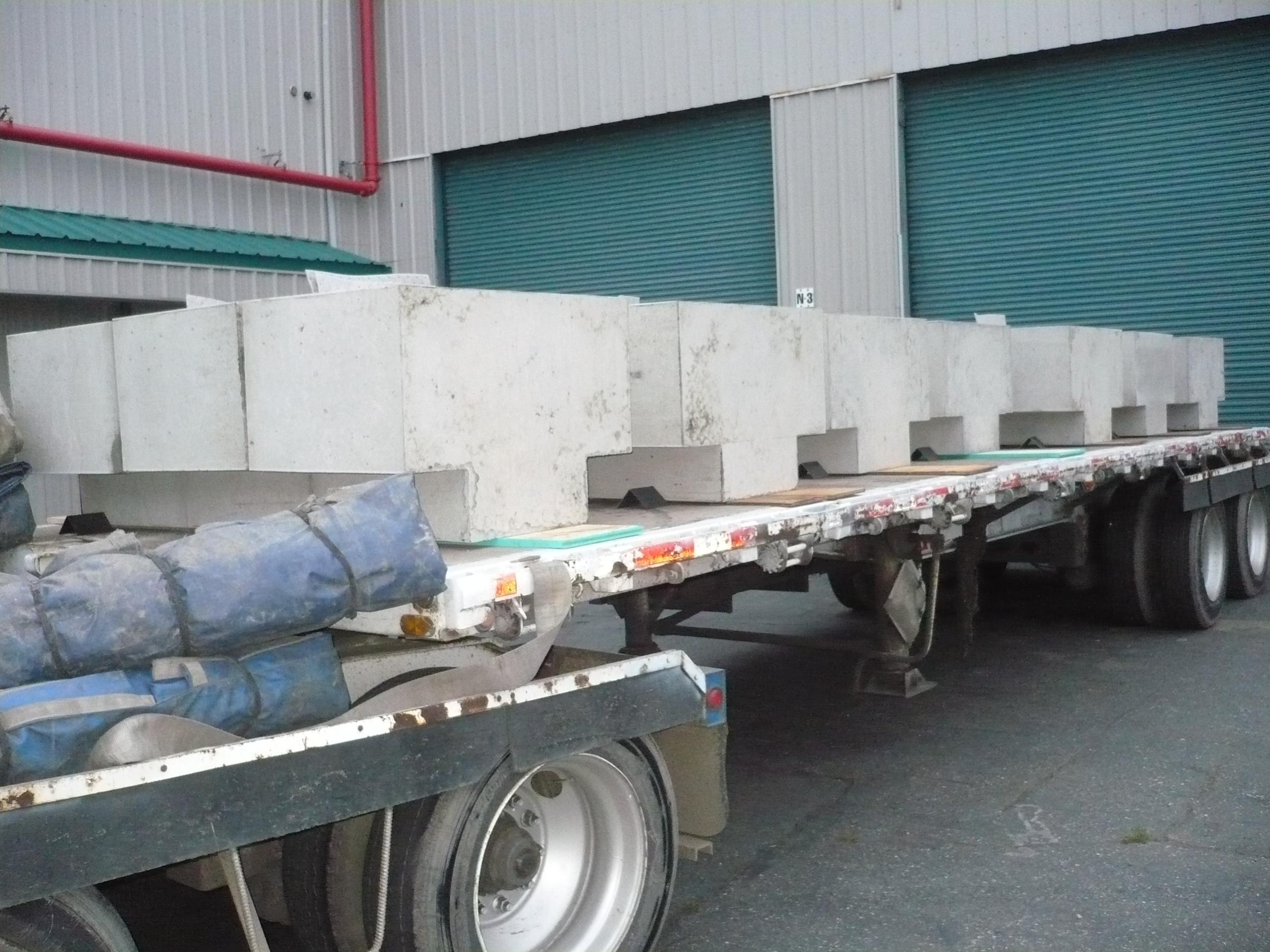 Shipping blocks